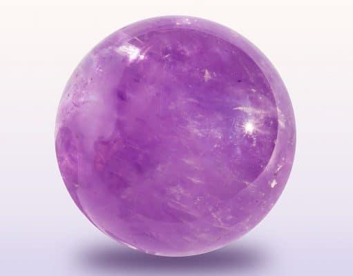 Amethist beschermende steen