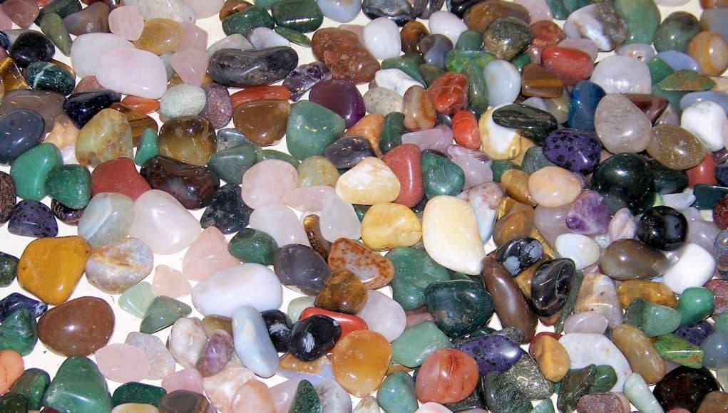 lijst edelstenen en mineralen